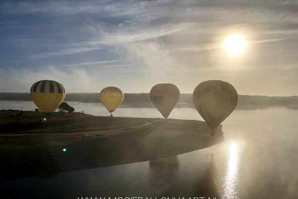 Ballonvaart over Alentejo Portugal
