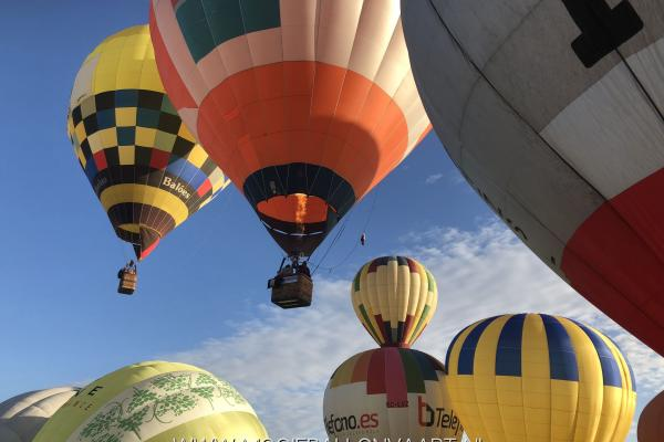 Ballonvaart in Portugal 2018
