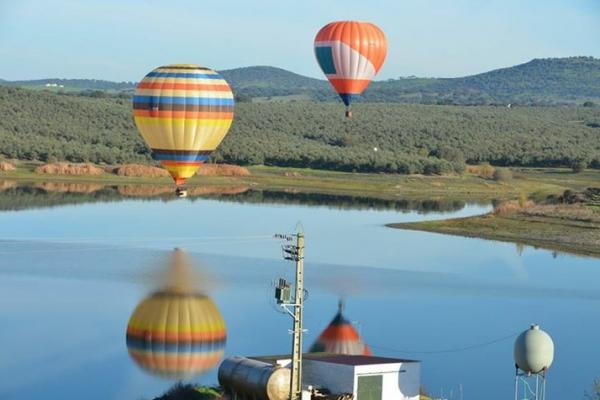 Ballonvaren in Portugal 2015