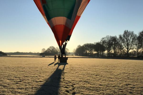 Ballonvaart in de winter 2016